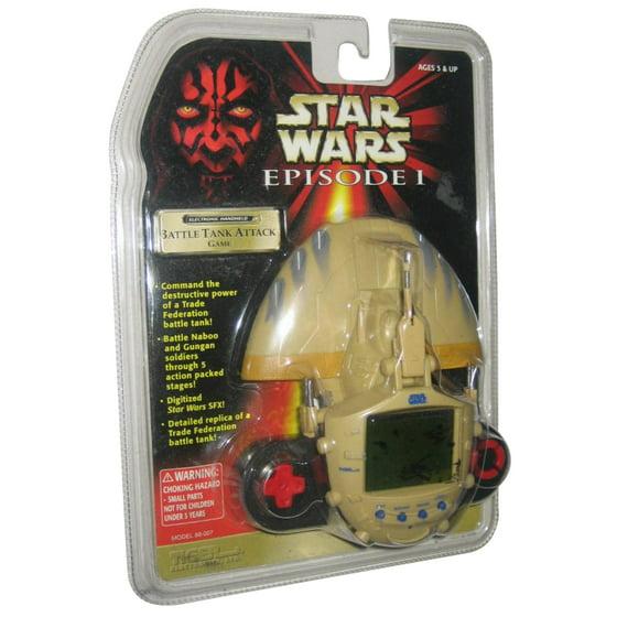 Star Wars Episode I Battle Tank Attack Premier Electronic Handheld Tiger  Game