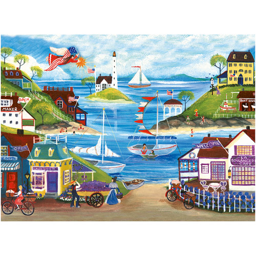Ravensburger Lovely Seaside Puzzle, 500 Pieces