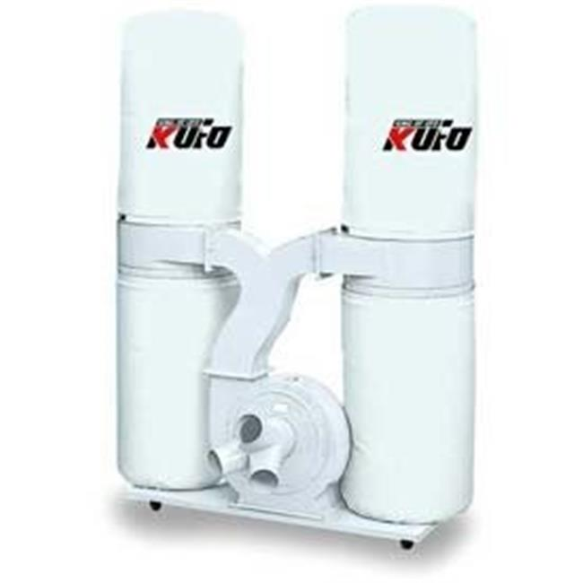Kufo Seco 5 HP 3,900 CFM 1-Phase 220V Vertical Bag Dust Collector by KUFO