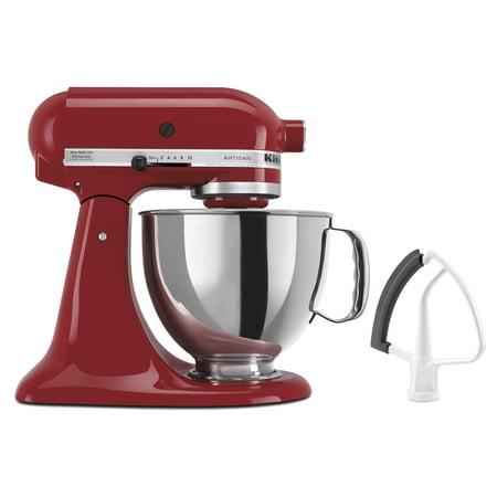KitchenAid® Artisan® Series 5 Qt Tilt-Head Stand Mixer + FREE Flex Edge (Kitchenaid 5 Qt Artisan Mixer Best Price)