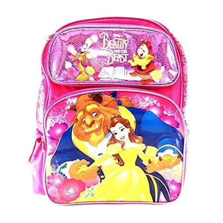 """Backpack - Disney - Beauty And The Beast - Belle 16"""" New 110482 - image 1 of 1"""