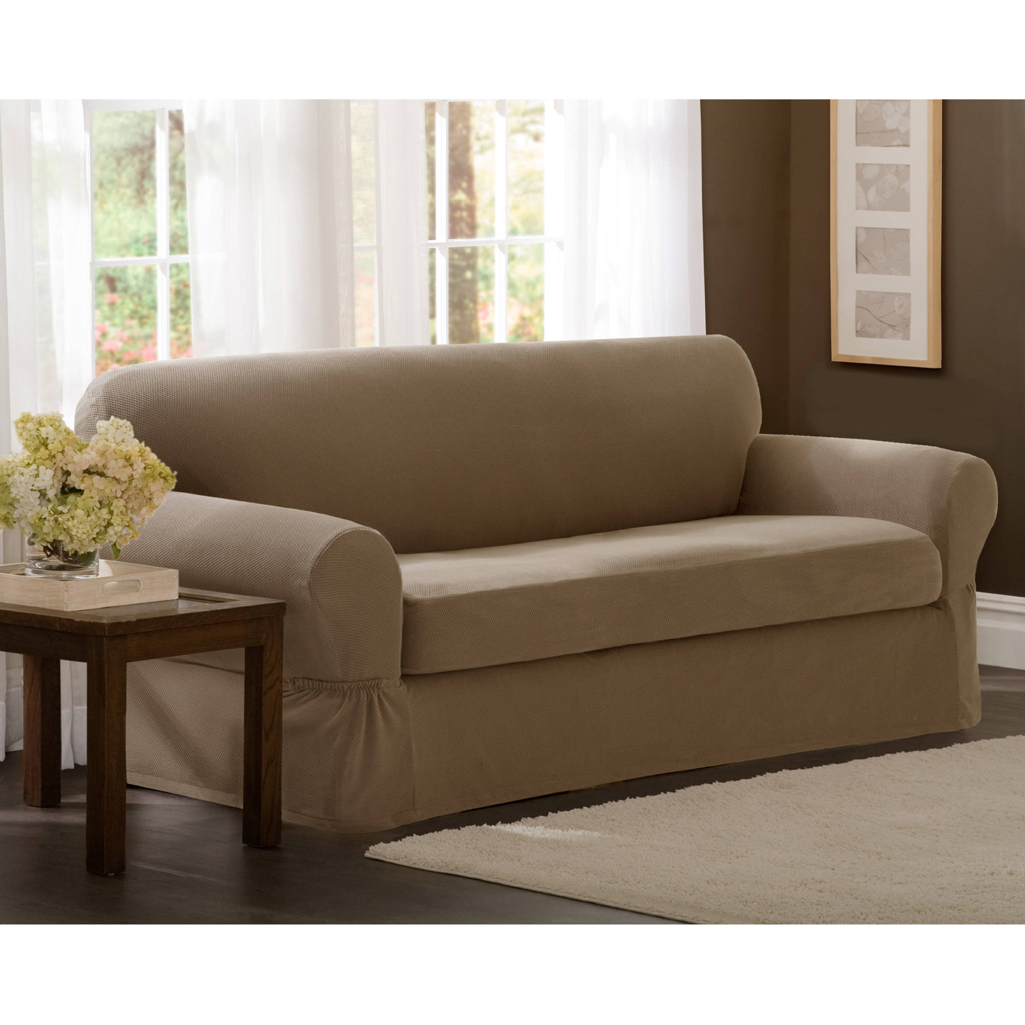 Dual Reclining Loveseat Cover Quick
