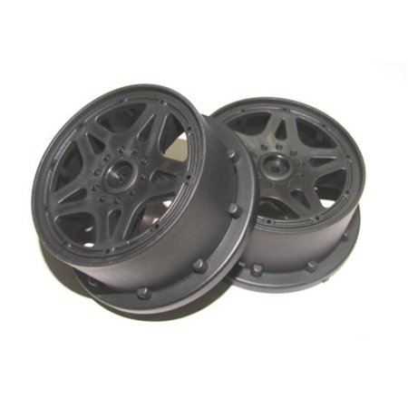 Front Bead - Lock Rims, Black