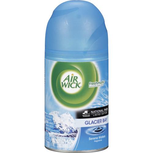 Air Wick Freshmatic Ultra Air Freshener Spray Refill, Glacier Bay Serene Waters Sunset  Scent, 6.17 oz.