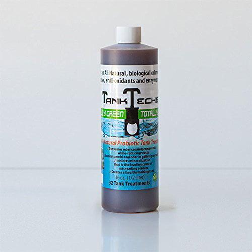 TankTechsRx RV Holding Tank Treatment & Cleaner 32 treatments natural organic probiotics... by TankTechsRx