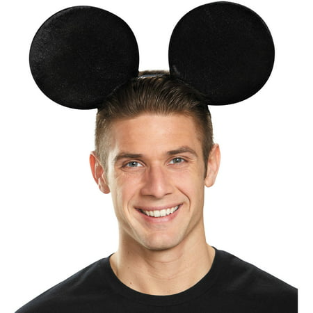 Oversized Mickey Mouse Ears Adult Halloween Accessory - Mickey Mouse Halloween Ears