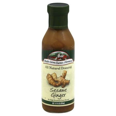 Sesame Ginger Dressing - Maple Grove Drssng Sesame Ginger