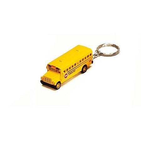 Mini Diecast School Bus Keychain Pullback by (New School Buses)