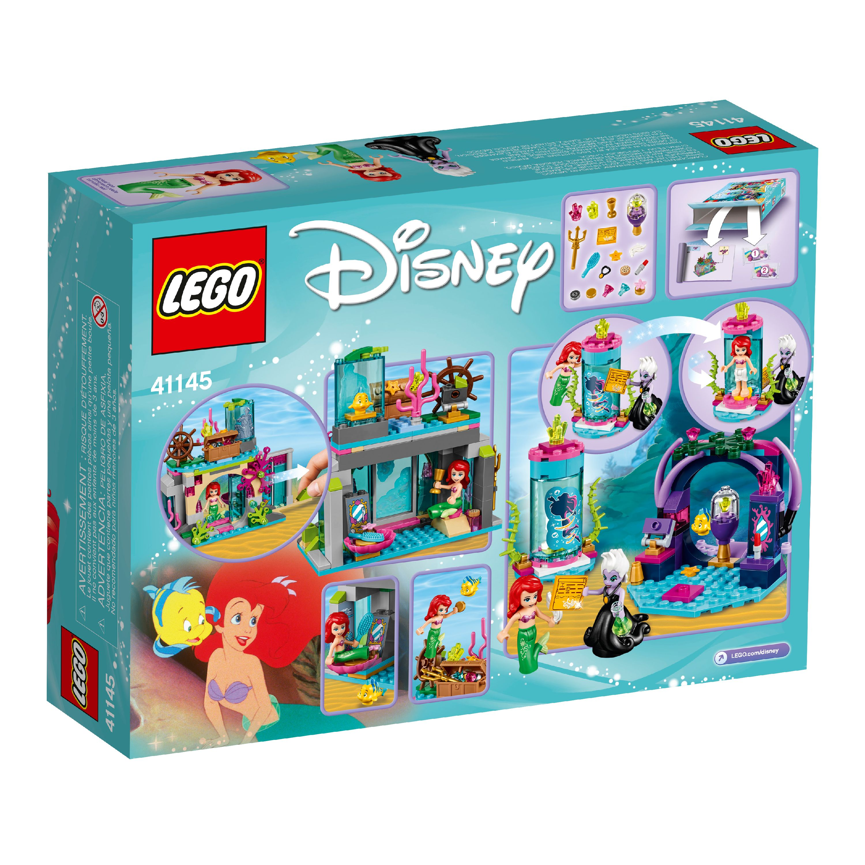 LEGO 41145 Disney Princess ARIEL AND THE MAGICAL SPELL sealed age 5-12