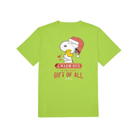 Pics Of Snoopy (Snoopy Woodstock Warm Hug Best Gift Of All Christmas T-Shirt)
