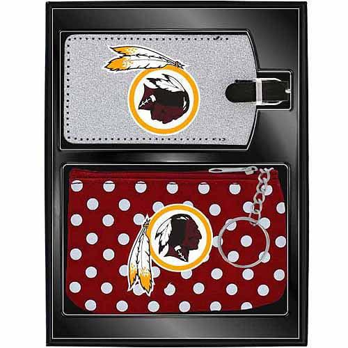Aminco Women's Sports 2-Piece Travel Set, Redskins