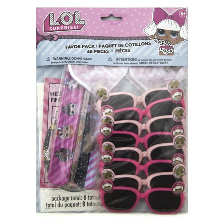 LOL Surprise Party Favors, 48pc - Kids Sunglasses Party Favors
