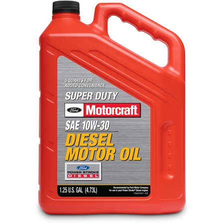 Motorcraft super duty diesel 10w30 motor oil 5 quart for How to get motor oil out of jeans
