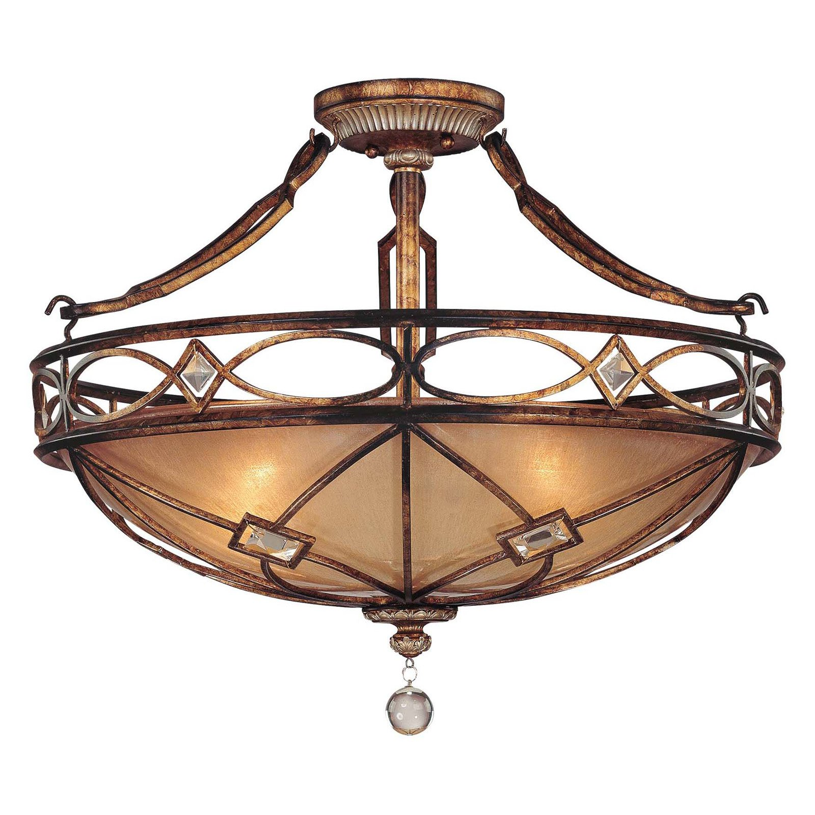 Minka Lavery Aston Court Semi Light Flush Mount