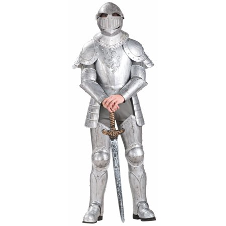 Knight in Shining Armor Adult Halloween Costume (Armored Knight Costume)