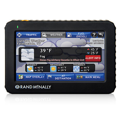 Refurbished Rand McNally Intelliroute TND 520 Truck GPS with Lifetime Maps by Rand McNally