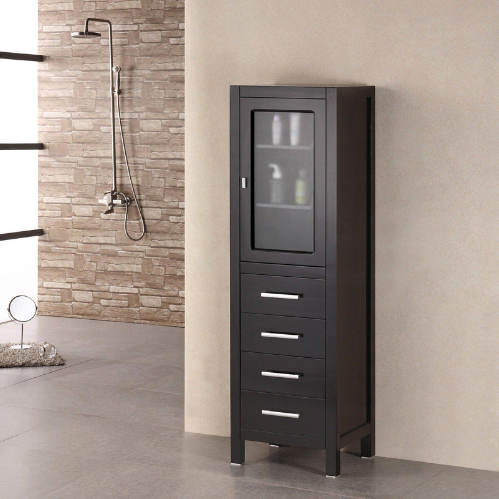 Design Element Charlotte 60-in. Linen Cabinet