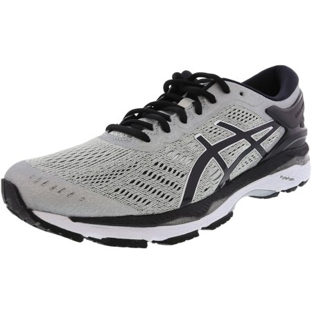 Asics Men's Gel-Kayano 24 Silver / Black Mid Grey Ankle-High Running Shoe - 9M Dunk Mid Pro Shoe