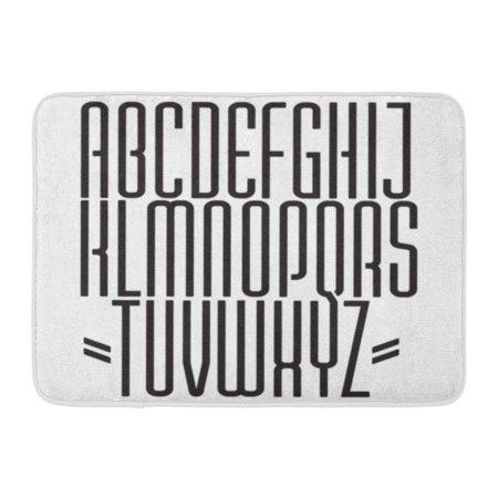 Godpok Lettering Alphabet Thin Ultra Condensed Typeface