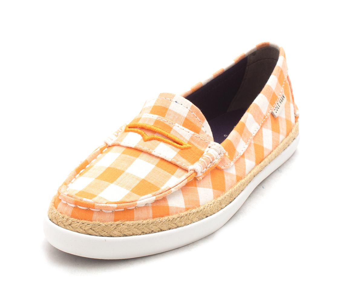 Cole Haan Womens Meretsam Closed Toe Slide Flats, Sundress Checkers, Size 6.0