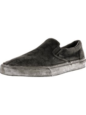 39a94d892c Product Image Vans Classic Slip-On + Overwash Paisley Black Low Top Canvas  Skateboarding Shoe - 11M