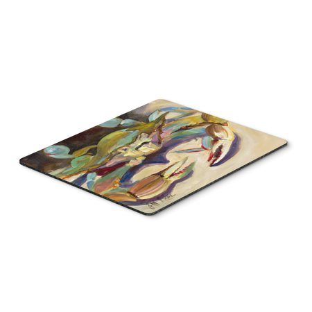Blue Crab Tail Fin Mouse Pad, Hot Pad or Trivet JMK1101MP