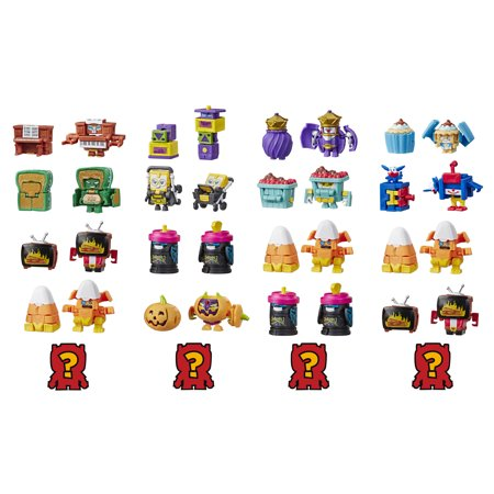Transformers Toys BotBots Team 5-Pack - Mystery 2-In-1 Collectible Figures! Kids Ages 5 and Up (Styles and Colors May Vary) by Hasbro