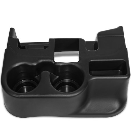 Center Console Cup Holder Attachment for Selected Dodge RAM Pick Up Vehicles- Replacement Part SS281AZAA - Black (Cup Holders)
