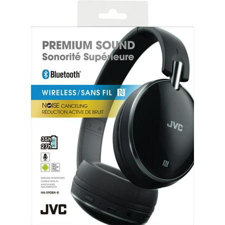 Jvc Ha S90bn Bluetooth Wireless Headphones With Noise Cancel
