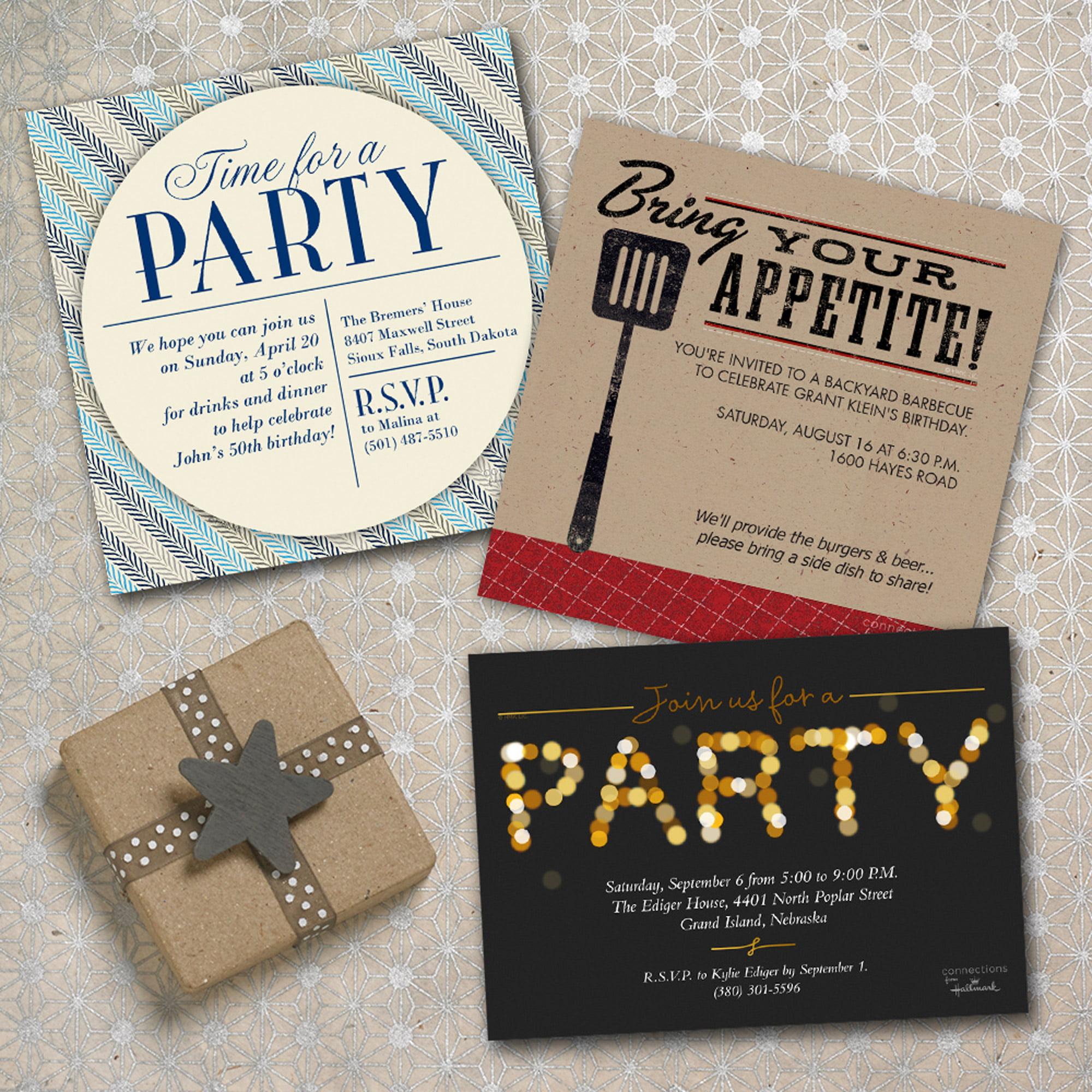 Birthday Greeting Cards and Invitations Walmart