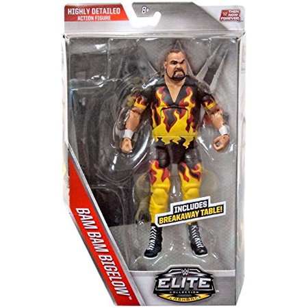 WWE, Elite Collection Then Now Forever, Bam Bam Bigelow Action Figure - image 1 of 1