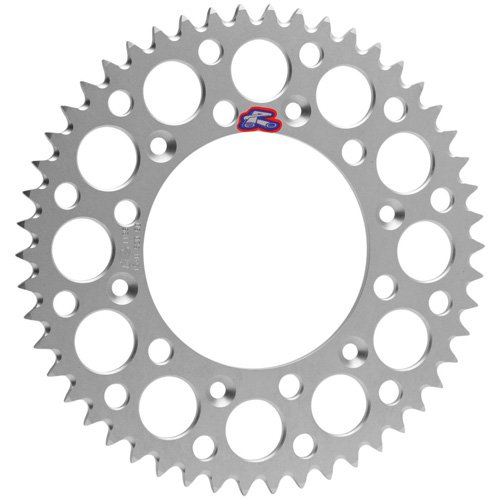 Renthal Ultralight Rear Sprocket 52 Tooth Silver Fits 99-16 Yamaha YZ125