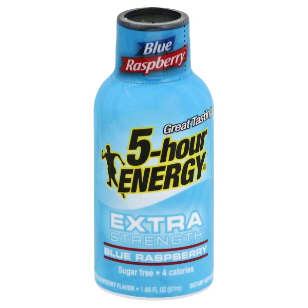 Innovation Ventures 5hour Energy Ext Strength Blue Raspberry