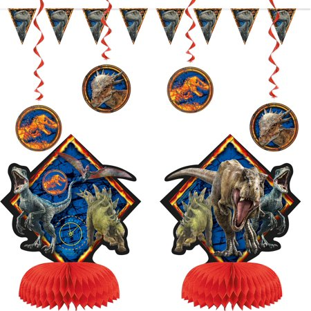 Jurassic World 2 Decorating Kit - Jurassic Park Decorations