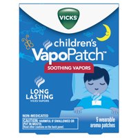 Vicks Children's VapoPatch with Lasting Soothing Vicks Vapors, 5 Ct