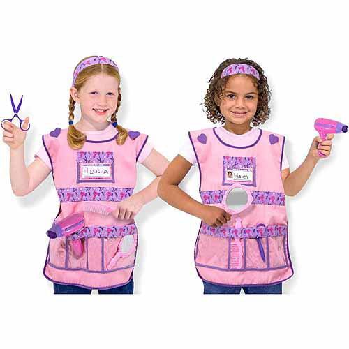 Melissa & Doug Hair Stylist Role Play Costume Dress-Up Set (7 pcs) by Melissa and Doug
