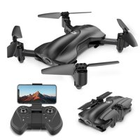 Holy Stone HS165 GPS Drone with 1080P Camera and video for adults Foldable Drone for Beginners, RC Quadcopter with GPS Return Home, Follow Me, Altitude Hold and 5G WiFi Transmission, Color Black