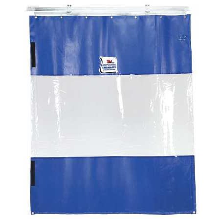 Partition Door - TMI 999-00077 Curtain Wall Partition, 8 ft H x 6 ft W