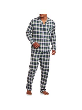 Hanes Men's 100% Cotton Flannel Pajama Set