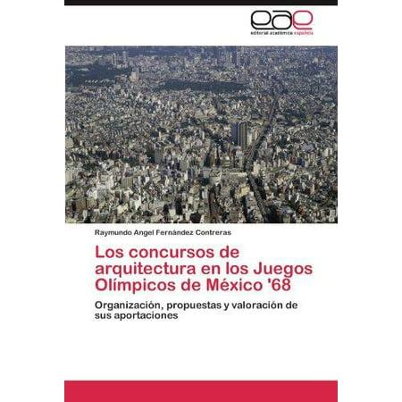 Los Concursos De Arquitectura En Los Juegos Olimpicos De Mexico 68