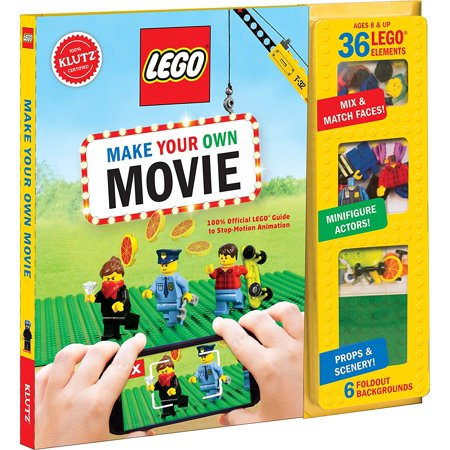 LEGO Make Your Own Movie KitProjects are an easy introduction to animation. Mini movies can be made in as little as an hour By Klutz](Lego Halloween Animation)