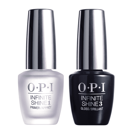 OPI Infinite Shine Gel Effects Nail Lacquer, Primer & Gloss Prostay Duo Pack, 0.5 Fl