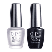 OPI Infinite Shine Gel Effects Nail Lacquer, Primer & Gloss Prostay Duo Pack, 0.5 Fl Oz