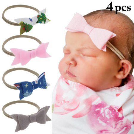 Aniwon - 4PCS Baby Headbands 125a913fa5d