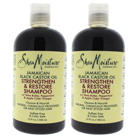 Jamaican Black Castor Oil Strengthen, Grow And Restore Shampoo by for Unisex - 13 oz Shampoo - Pack of