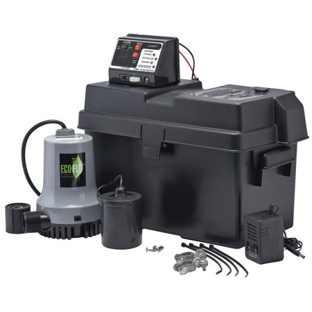 Eco Flo Products EBBS Emergency Battery Backup Sump System Backup Sump Pump System
