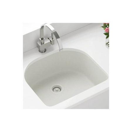Polaris Sinks 24 75 L x 22 W Single Undermount Kitchen Sink