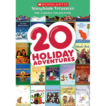 20 Holiday Adventures: Scholastic Storybook Treasure Classic Collection (DVD)