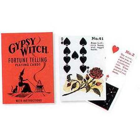 Fortune Playing Card (Fortune Telling Tarot Cards Gypsy Witch Fortune Telling Playing Card by Mlle Lenormand )