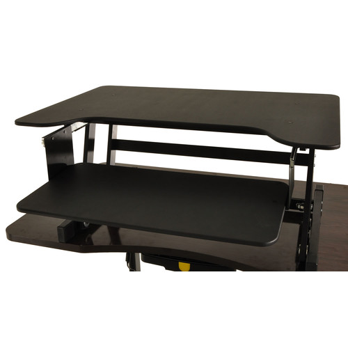 Conquer 16 H x 32 W Standing Desk Conversion Unit Walmartcom